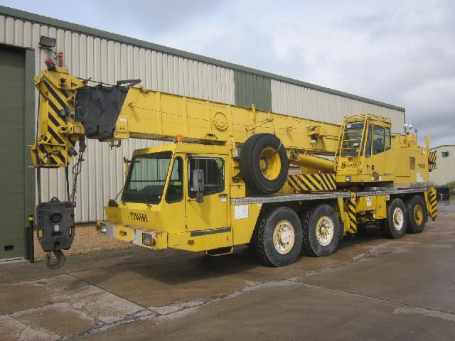 Grove TT 865 65 ton crane - ex military vehicles for sale, mod surplus