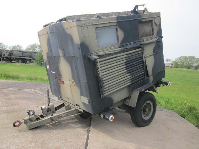 Reynolds Boughton box trailer - ex military vehicles for sale, mod surplus