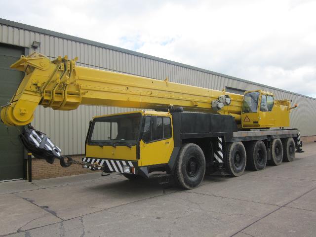 Liebherr LTM 1120 crane - ex military vehicles for sale, mod surplus