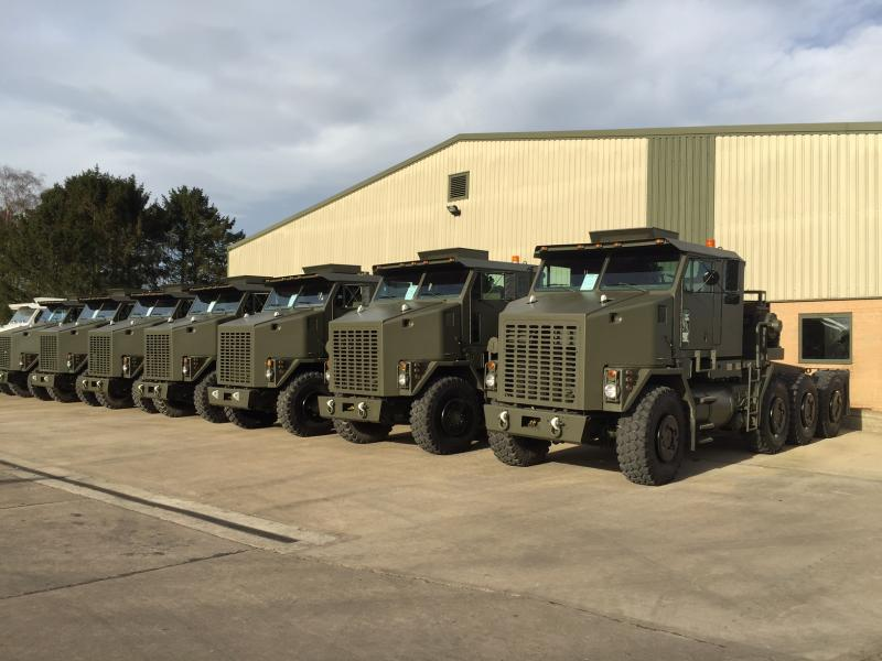 MoD Surplus, ex army military vehicles for sale - Oshkosh M1070 Tractor Units