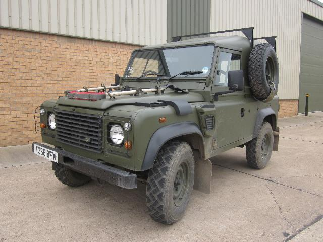 Land rover defender 90 wolf - ex military vehicles for sale, mod surplus