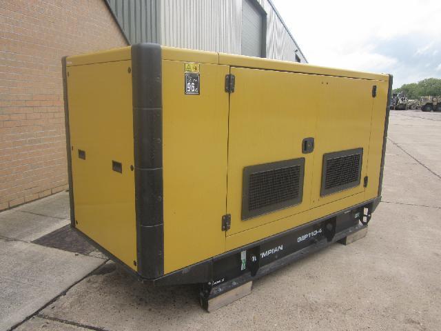 Caterpillar Olympian 110 KVA generator (Unused) - ex military vehicles for sale, mod surplus