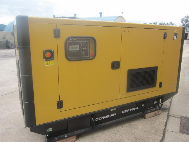 Caterpillar Olympian 110 KVA generator (Unused)