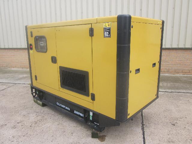 Caterpillar Olympian 88 KVA generator (Unused) - ex military vehicles for sale, mod surplus