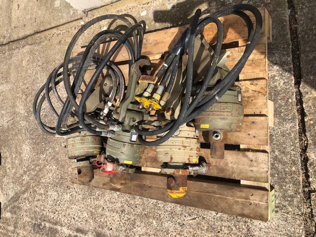Kinshoffer 235-10 Crane Rotators 4000 kg cap