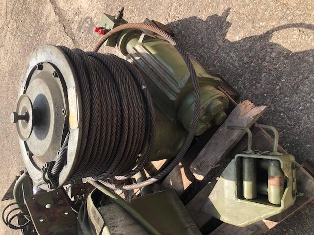 Sepson 18-07 HY hydraulic side mounted Winch