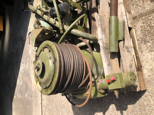 MoD Surplus, ex army military vehicles for sale - Sepson 18-07 HY hydraulic side mounted Winch