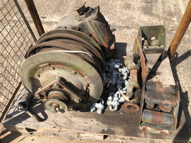 military vehicles for sale - Sepson PTO shaft driven Winch