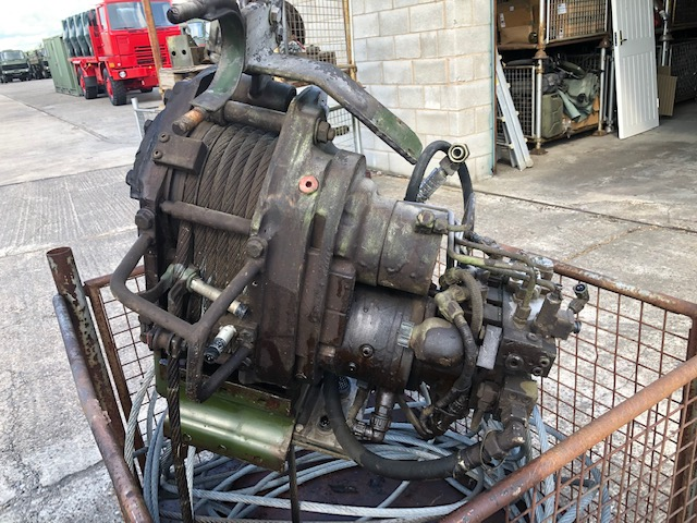military vehicles for sale - Rotzler TR 080/3-2183231001 Hydraulic winch