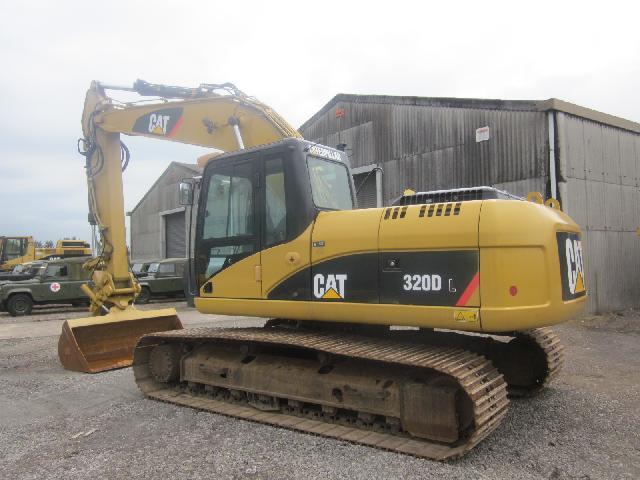 Caterpillar Tracked Excavator 320 DL - ex military vehicles for sale, mod surplus