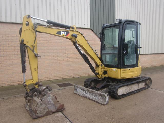 Caterpillar Tracked Excavator 303C CR 2008 - ex military vehicles for sale, mod surplus