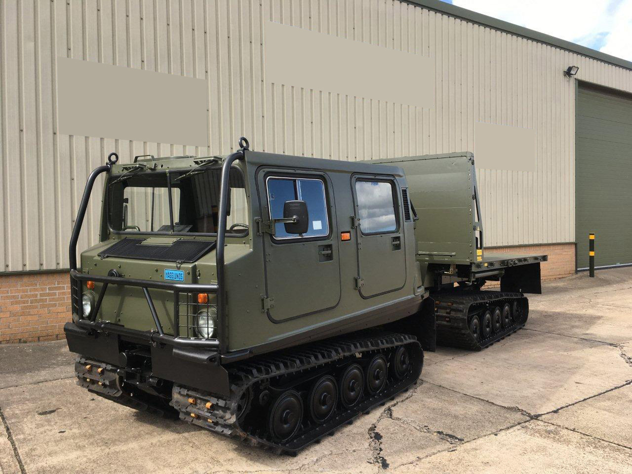 military vehicles for sale - Hagglunds Bv206 Load Carrier with Crane