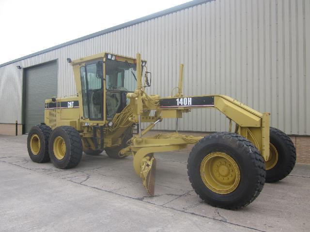 Caterpillar Grader 140H - ex military vehicles for sale, mod surplus