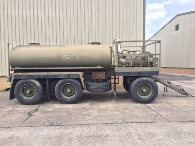 military vehicles for sale - Boughton Water Bowser Trailer with Heating System