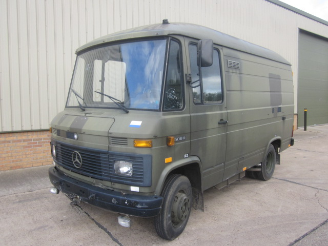 Mercedes Benz 508D Ambulance / Van / Personnel Carrier - ex military vehicles for sale, mod surplus
