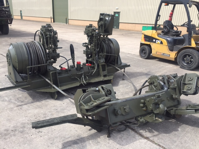 MoD Surplus, ex army military vehicles for sale - Rotzler Heavy Duty Dual Winch Unit
