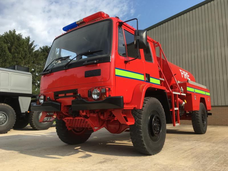 Leyland Daf 45.150 Fire Engine - ex military vehicles for sale, mod surplus