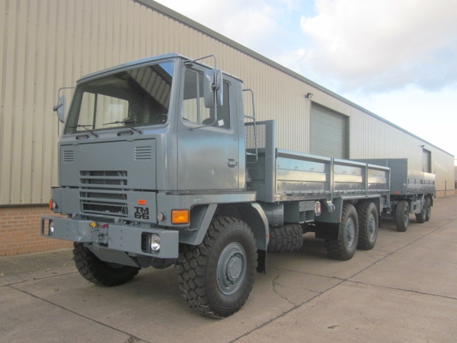 MoD Surplus, ex army military vehicles for sale - Bedford TM 6x6 Drop Side Cargo Truck