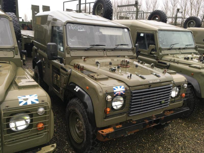 Land Rover Defender 90 Wolf RHD Hard Top (Remus) - ex military vehicles for sale, mod surplus