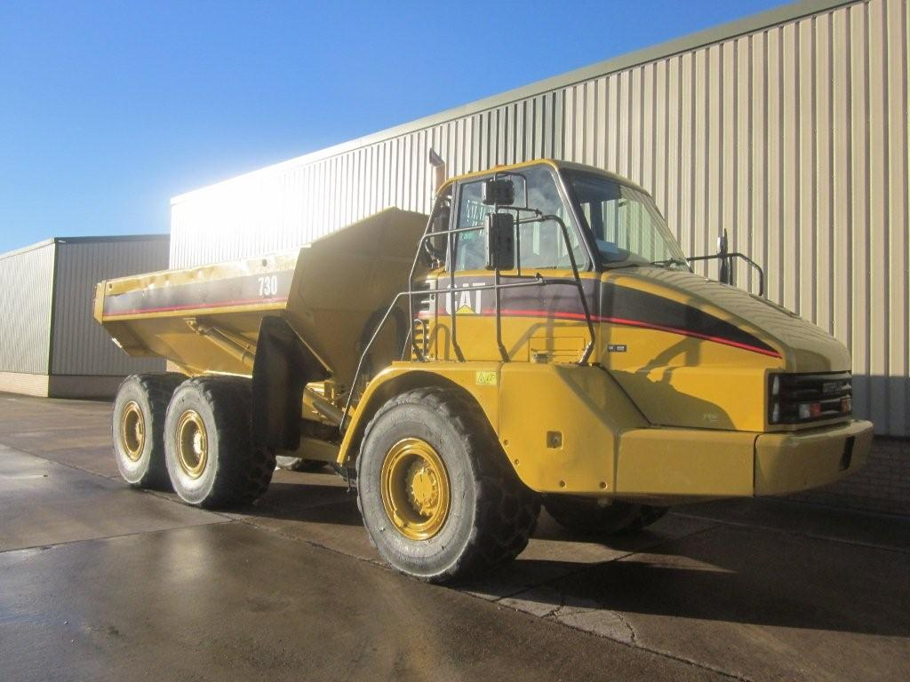 Caterpillar Articulated Frame Steer Dumper 730 - ex military vehicles for sale, mod surplus