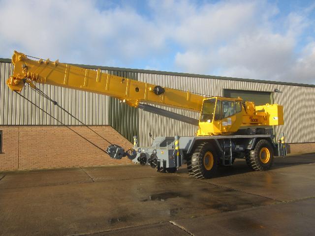Grove RT 600 E 45 ton capacity Rough Terrain Crane  - ex military vehicles for sale, mod surplus