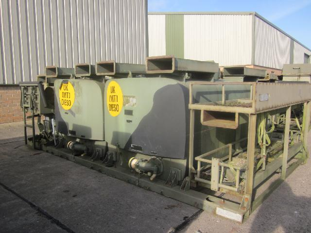 MoD Surplus, ex army military vehicles for sale - De mountable fuel dispenser