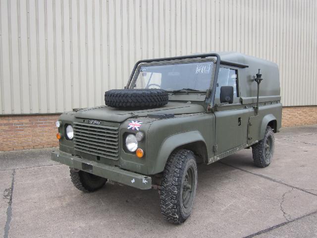 Land rover 110 tithonus hard top - ex military vehicles for sale, mod surplus