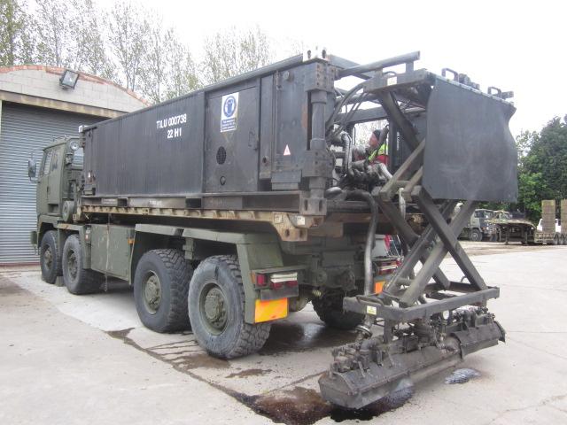 Bitumin container storage/distributor unit - ex military vehicles for sale, mod surplus