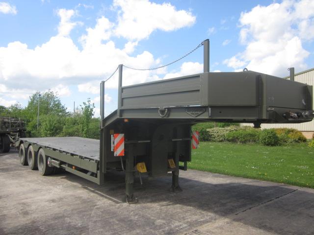 Broshuis step frame loader trailer - ex military vehicles for sale, mod surplus
