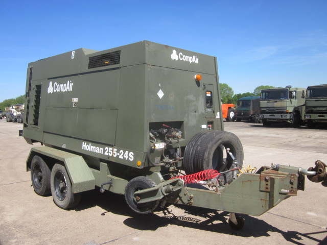 Compair 255-24 compressor - ex military vehicles for sale, mod surplus