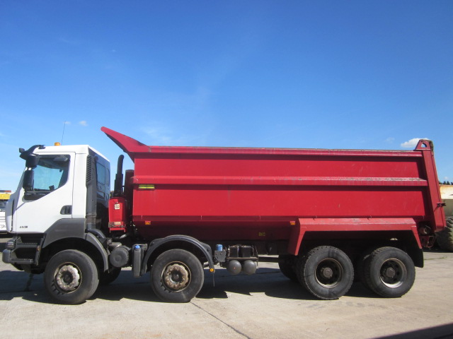 Renault Kerax tipper trucks