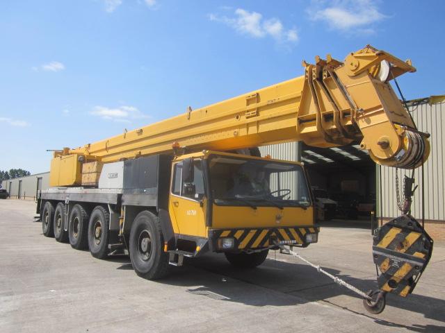 Liebherr LTM1120 crane  - ex military vehicles for sale, mod surplus
