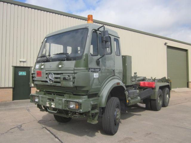 Mercedes 2638 6x6 drops truck  - ex military vehicles for sale, mod surplus
