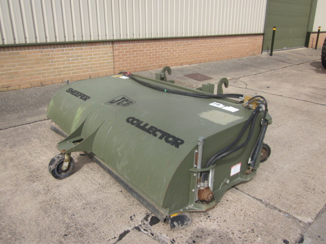 JCB sweeper collector - ex military vehicles for sale, mod surplus