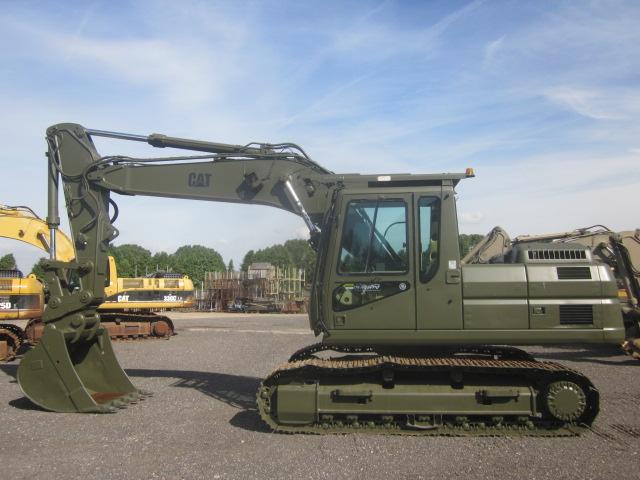 Caterpillar Tracked Excavator 320 B - ex military vehicles for sale, mod surplus