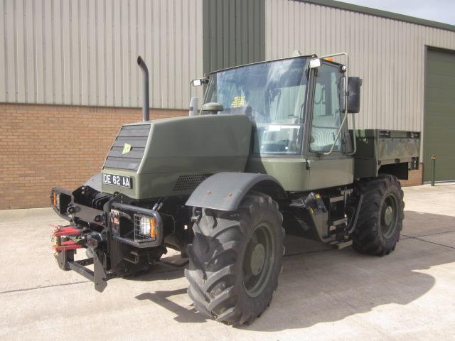 JCB fastrac 155-65 ex MoD - ex military vehicles for sale, mod surplus