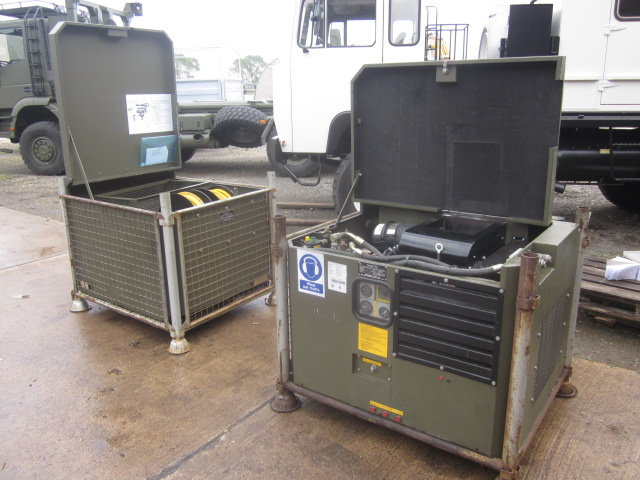 Factair air power compressor with tool kit  - ex military vehicles for sale, mod surplus