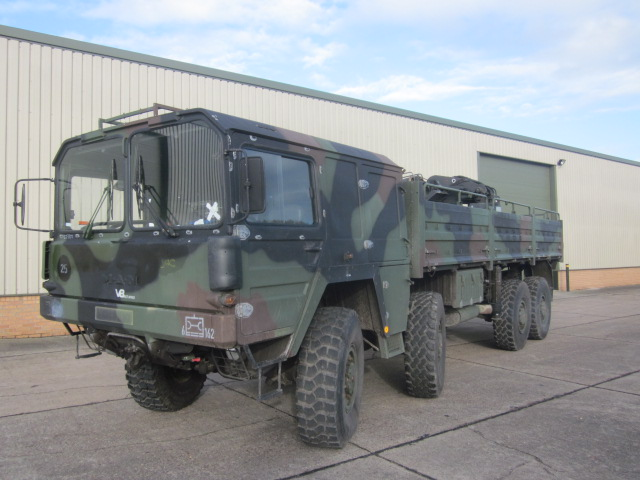 MAN 464 8x8 Drop Side Cargo Truck - ex military vehicles for sale, mod surplus