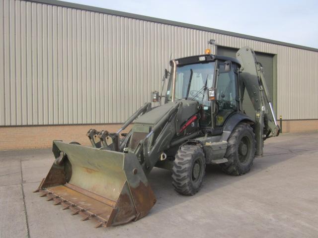 JCB 3cx sitemaster military  - ex military vehicles for sale, mod surplus