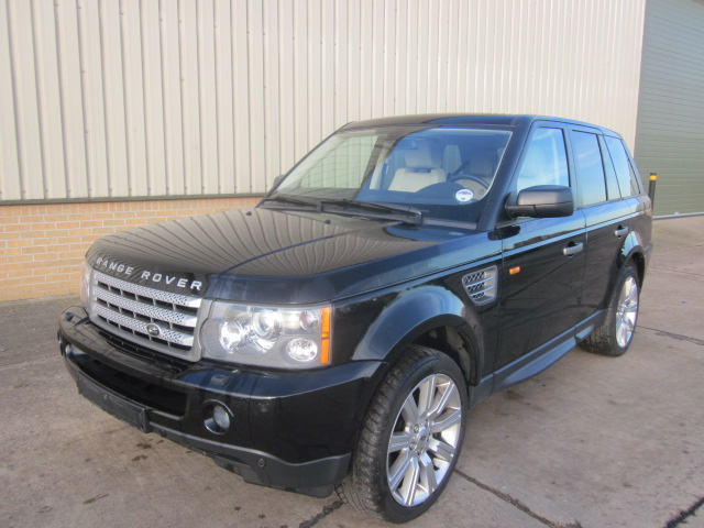 Range rover sport supercharged - ex military vehicles for sale, mod surplus