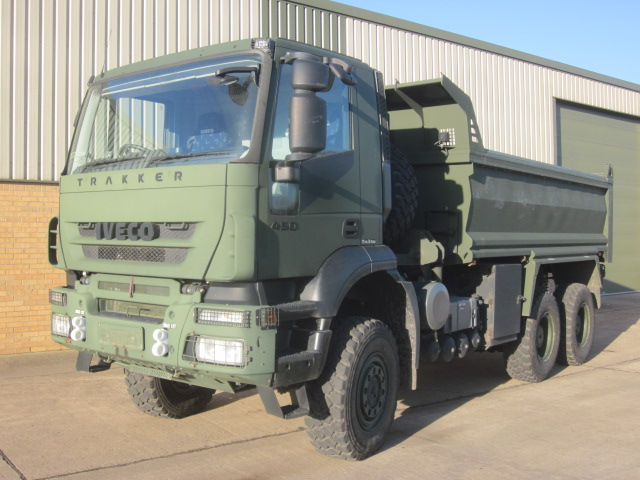 MoD Surplus, ex army military vehicles for sale - Iveco Trakker 6x6 tipper