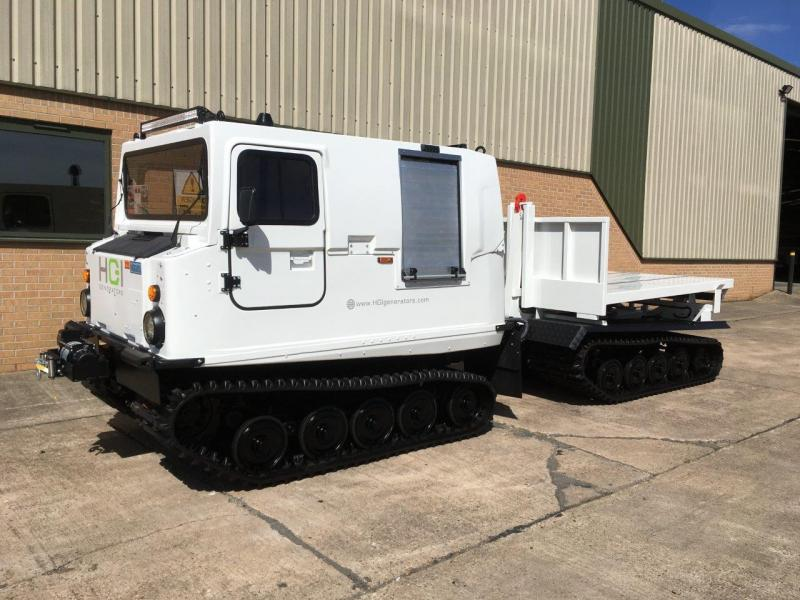 MoD Surplus, ex army military vehicles for sale - Hagglunds Bv206 DROPS Body Unit