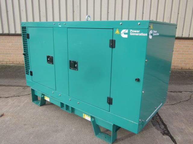 Unused Cummins 13.2 kva generator - ex military vehicles for sale, mod surplus