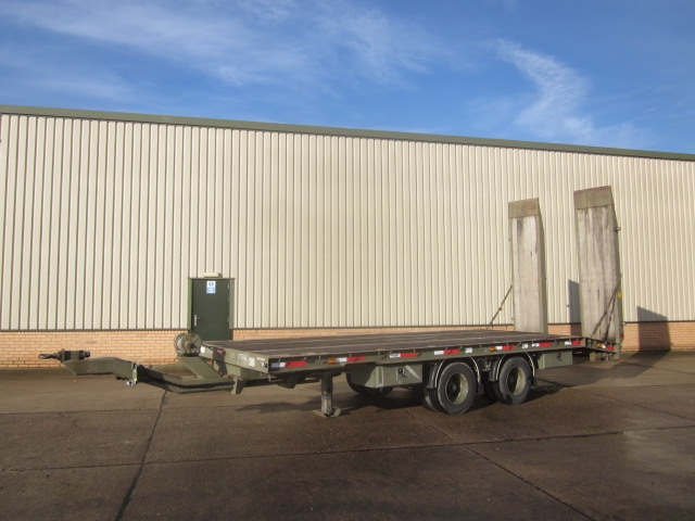 military vehicles for sale - King drawbar plant trailer