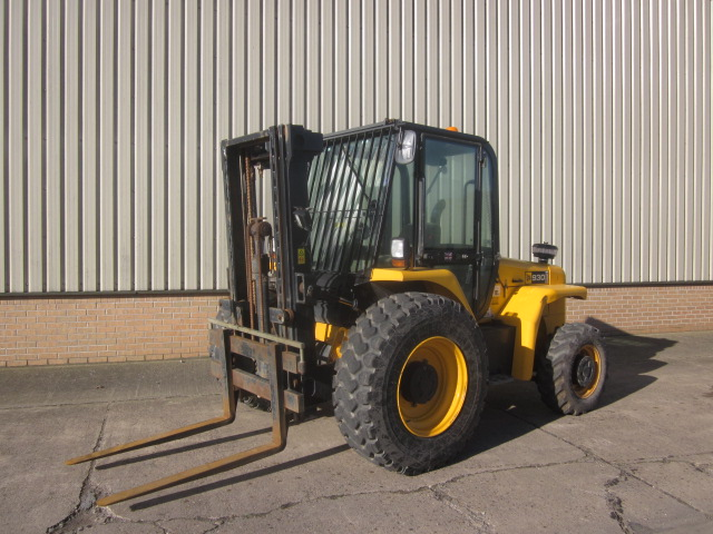 JCB 930-4 rough terrain forklift  - ex military vehicles for sale, mod surplus