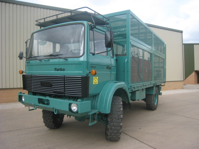 Iveco 110 - 16 4x4 service / lube truck - ex military vehicles for sale, mod surplus