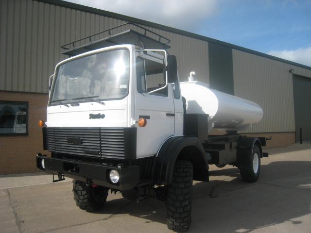 military vehicles for sale - Iveco 110 - 16 tanker truck