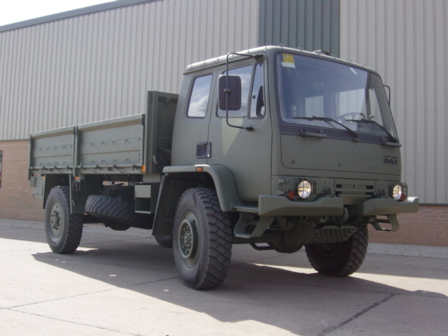 MoD Surplus, ex army military vehicles for sale - Leyland Daf T45 4x4 Drop Side Cargo