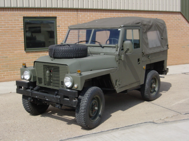 military vehicles for sale - Land Rover Series III 88inch Lightweight