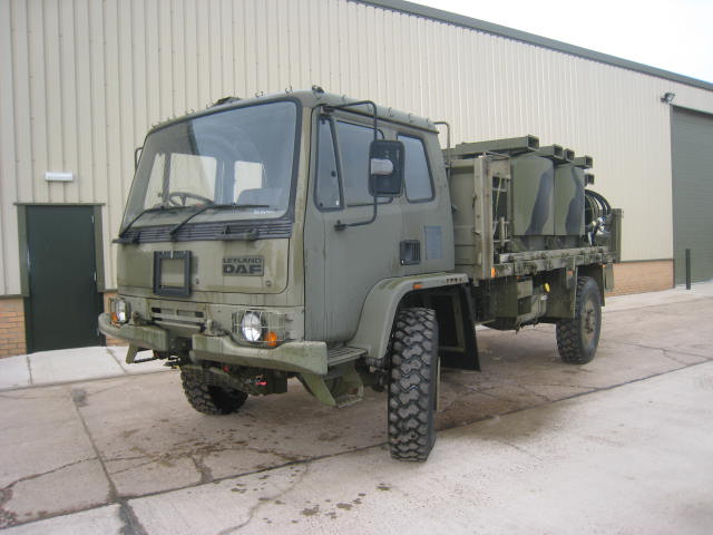 MoD Surplus, ex army military vehicles for sale - Leyland Daf T45 with UBRE fuel tanks & delivery system